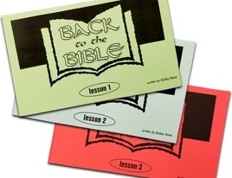 Reaching the Lost: Jesus and Back to the Bible