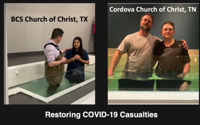 Reaching the Lost: Restoring COVID-19 Casualties