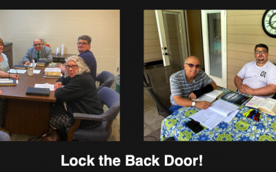 Reaching the Lost: Lock the Back Door