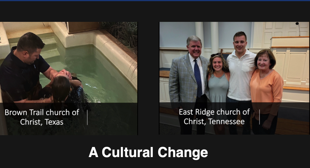 Reaching the Lost: A Cultural Change