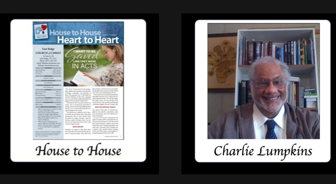 Reaching the Lost: House to House/Heart to Heart Reaches Charlie