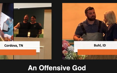 Reaching the Lost: An Offensive God